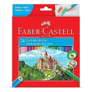Lápis de Cor Faber Castell 24 Cores