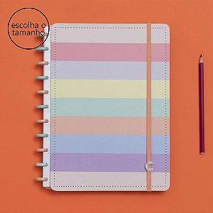 Caderno Inteligente Arco-Íris Pastel