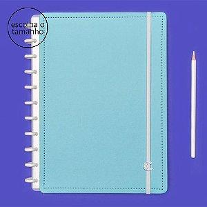 Caderno Inteligente Azul Celeste