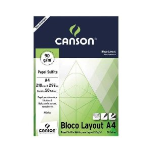 Papel Canson Sulfite Layout 90g A4