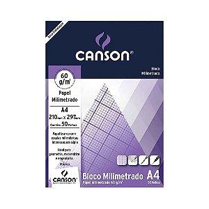 CANSON PAPEL MILIMETRADO 60GM2 A4