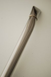 Bomba de chimarrão em aço inox - 206 - curta
