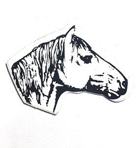 Adesivo 6 cm x 4,5 cm - Cavalo -207