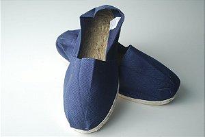 Alpargata Azul - solado corda