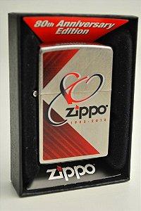 Zippo 80 anos Edição do colecionador