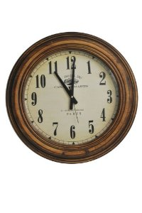 Relógio 50 cm redondo em madeira