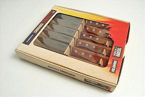 Conjunto 6 facas para churrasco