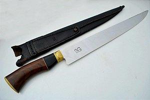 Faca SG 12 polegadas - cabo madeira e chifre - 206
