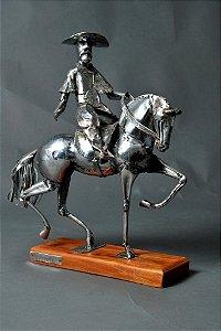 Escultura Ginete