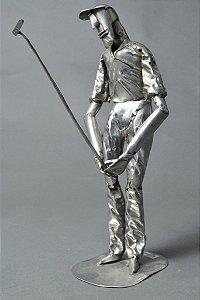 Escultura de golfista
