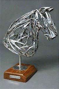 Escultura Busto vazado