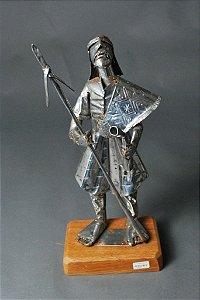 Escultura Indio Guerreiro