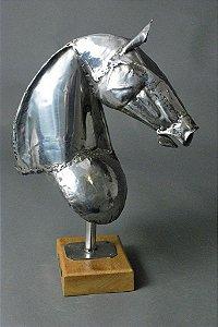 Escultura Busto de cavalo ok