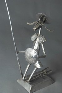 Escultura Dom Quixote