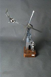 Escultura moinho de Vento