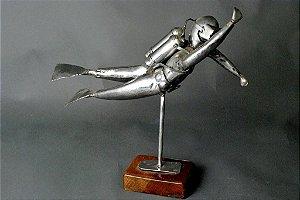 Escultura Mergulhador