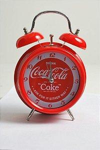 Relógio despertador Coca-Cola