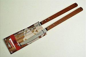 Conjunto churrasco faca e garfo Tramontina