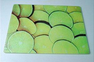 Tábua de vidro limão