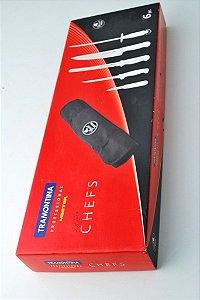 Conjunto de facas cheff tramontina