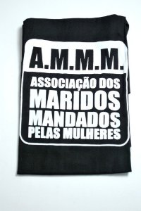 Avental A.M.M.M Associação dos Maridos Mandados pelas Mulheres