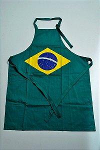 Avental Brasil - Ordem e Progresso