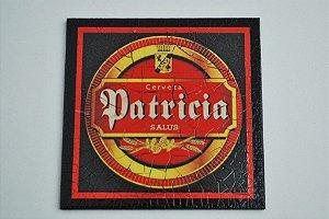 Porta copo individual - Cerveja Patricia