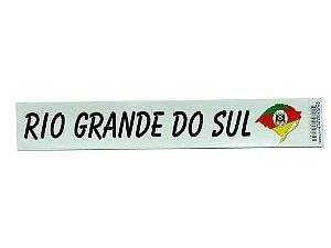 Adesivo 25cm x4cm - Rio Grande do Sul