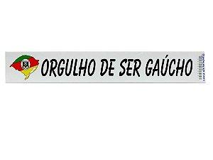 Adesivos 25cm x 4cm Orguho de ser Gaúcho