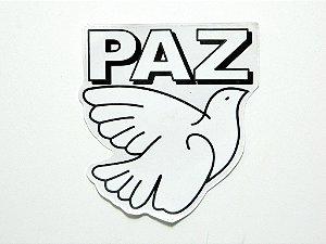 Adesivo Paz 11,5 cm x 13 cm