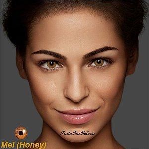 Lente de Contato Mel Honey Air Optix + Estojo + Brinde