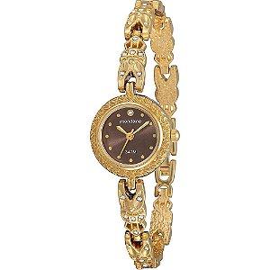 Relógio Feminino Mondaine Delicado com Pedrinhas Analógico