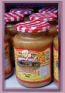 Pote Doce de Leite com Amendoim - Parreiras de Minas
