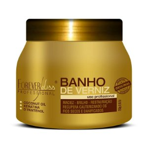 Banho de Verniz Brilho Hidratante 250gr
