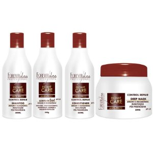 Forever Liss Kit Home Care Pós Progressiva ou Pós Quimica