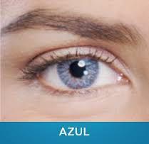 Lente Contato Azul - Vision Hitech Original