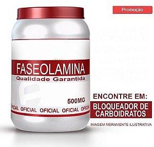 BLOQUEADOR DE CARBOIDRATOS - FASEOLAMINA 500MG 60 CÁPSULAS -