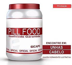 Crescimento Cabelo - PILL FOOD 60 CÁPSULAS