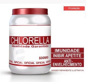 Inibidor Apetite CHLORELLA 500MG 60 CÁPSULAS