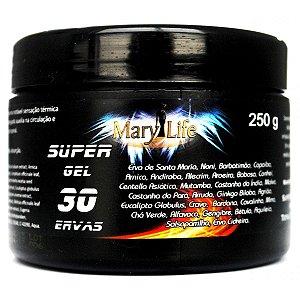 Super Gel 30 Ervas  Sensação Quente Frio 250g