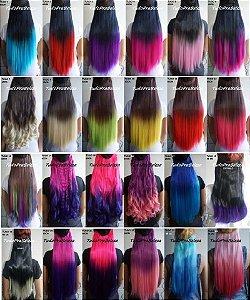 Apliques Coloridos Lisos  60 cm