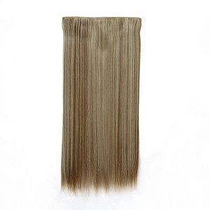 Aplique Mel com Loiro Liso / Loiro claro com Dourado 70 cm