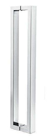 Puxador Nilo-Q 40x15 Inox Polido - KROMUS
