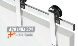 Kit Correr Smart Inox 304 - STAM