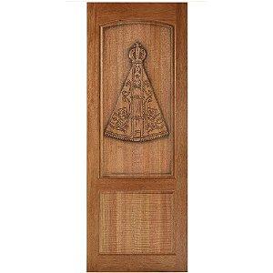 Porta de Madeira Maciça Entalhada - Ref.277