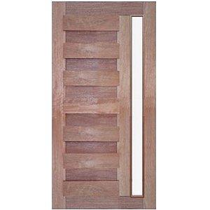 Porta de Madeira Maciça - Espanhola Vidro