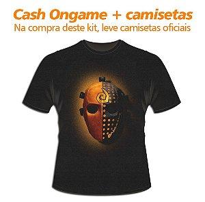 Kit: 5.000 Cash Ongame + 4 camisetas