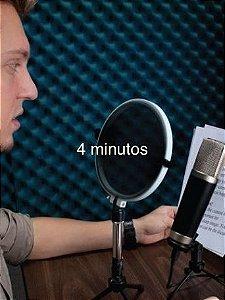 LM3  - Locução Masculina até 4 Minutos (Cesar)