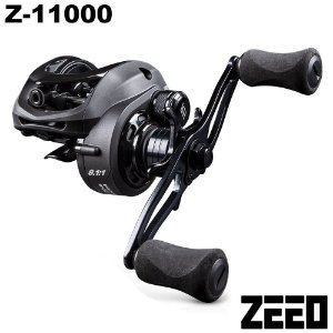 Carretilha ZEEO Z-11000 Drag 8kg 11 Rolamentos Recolhimento 8.1:1