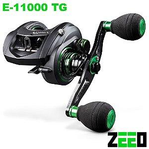 Carretilha ZEEO E-11000 TG Big Game Drag 11kg Recolhimento 7.1:1 com 11 Rolamentos